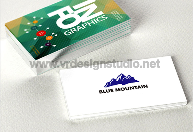 Vr design studio one stop design and printing solutions 350gsm side edge silver foil card reheart Images