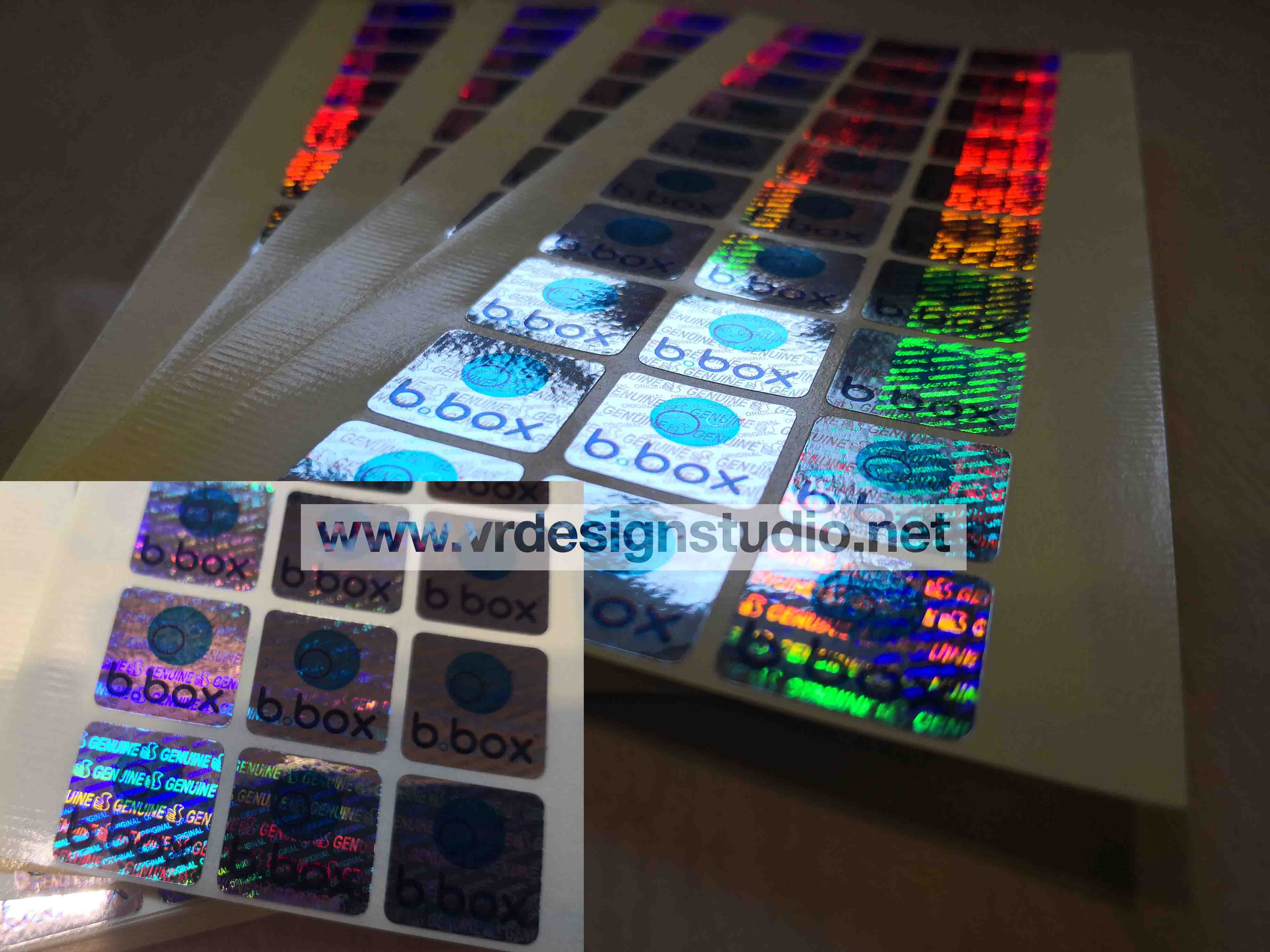cheap hologram security stickers printing singapore